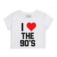The 90's-Unisex Snow T-Shirt