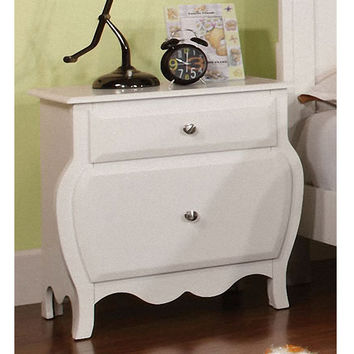 SAVE Duff Cinderelly Solid Wood Nightstand