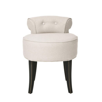 SAVE Safavieh Georgia Vanity Stool