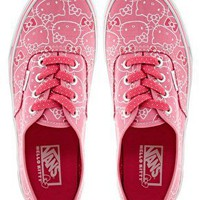 Vans Authentic Hello Kitty Lace Up Trainers at asos.com