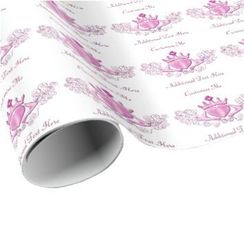 The Claddagh (Pink) Wrapping Paper