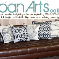 Modern Throw Pillows Urban Arts Collection