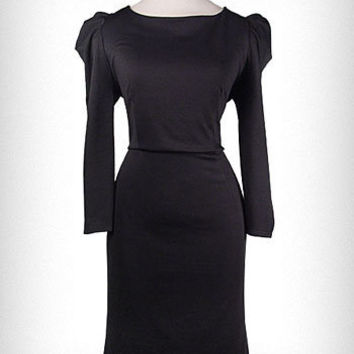 Modern Victorian Puff Shoulder Dress | PLASTICLAND