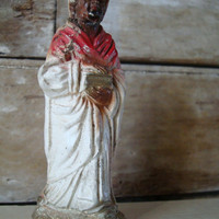 Vintage Chalkware Wiseman  Replacement or Your Private Collection
