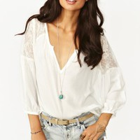 Jardin Lace Blouse