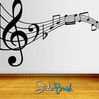 Vinyl Wall Decal Sticker Music Notes     KRiley125s