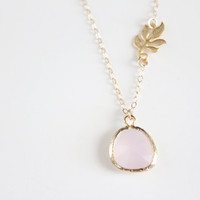 Blushing Bride Necklace - Gold