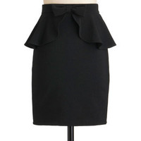 Penciled In Skirt | Mod Retro Vintage Skirts | ModCloth.com