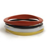 Castor Pollux Maggie Color Coated Thick Bracelet - Castor &amp; Pollux