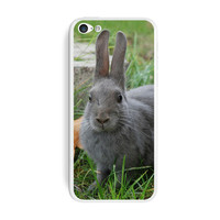 Bunny Rabbit Gray - Easter iPhone 5C Skin