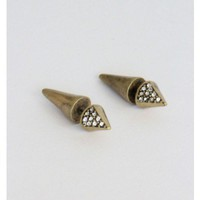 Double Sided Stud Earrings