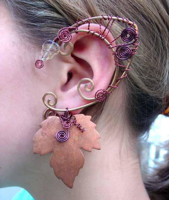 Awesome Pair Of Druid Elf Faerie Ears From Merlin's Apprentice