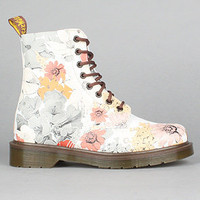 The Pascal 8-Eye Boot in Botanic Print 