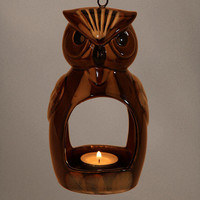 Night Owl Hanging Votive Candle Holder