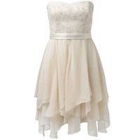 Susie Strapless Embellished Dress
