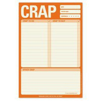 Crap Pad ? Fun Notepad by Knock Knock