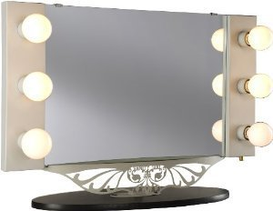 starlet table top lighted vanity mirror from amazon for my home. Black Bedroom Furniture Sets. Home Design Ideas