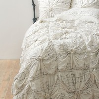 Rosette Bedding, Neutral