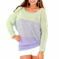 Purple Sunset Sweater