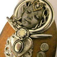 Attic Angel Liza by Raidersofthelostart on Etsy