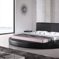 Amazon.com: Oslo Round Bed King Size (Black).: Furniture & Decor