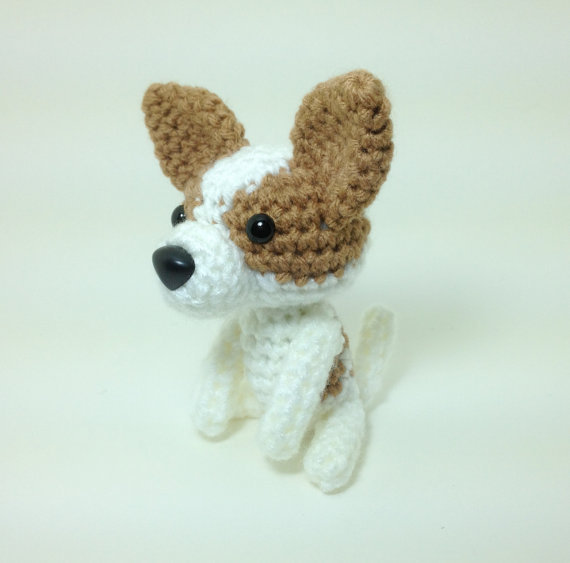 Amigurumi Stuffing : Chihuahua Crochet Dog Amigurumi Stuffed from Inugurumi on Etsy