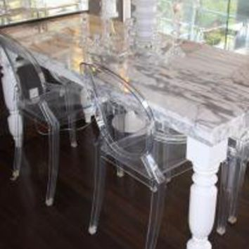 www.roomservicestore.com - Clear Acrylic Louis Style Chair