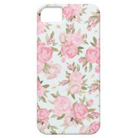 Floral Vintage Case Apple iPhone 5 Cases from Zazzle