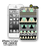 iPhone 5 Case, Aztec Art iPhone Case Hard Fitted iPhone 5 Case, iPhone 5 Hard Case