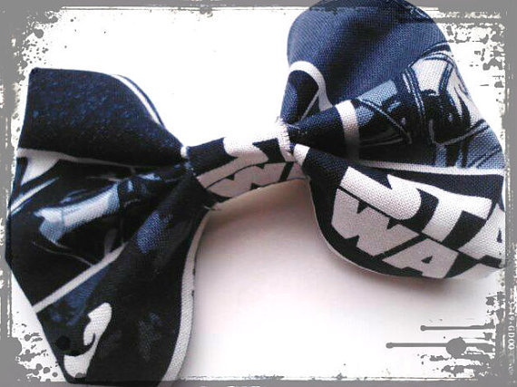 Star Wars Hair Bow- May the Force Be With You