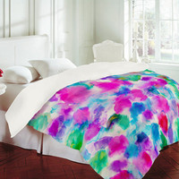 DENY Designs Home Accessories | Amy Sia Amaris Magenta Aqua Duvet Cover