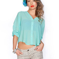 Chiffon Lace Up Back Blouse | Sexy Clothes Womens Sexy Dresses Sexy Clubwear Sexy Swimwear | Flirt Catalog