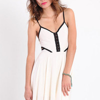 Pretty Sunday Cut Out Dress - $42.00 : ThreadSence.com, Your Spot For Indie Clothing  Indie Urban Culture