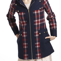 Riveted Plaid Jacket