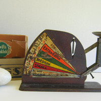 Antique Egg Grading Scale by RollingHillsVintage on Etsy