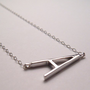 Alphabet pendants by Albeit Jewelry