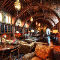 digital.biblyotheke - This is what I want my future home library to look...