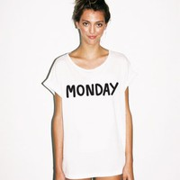 Lazy Oaf | Lazy Oaf | Monday Slob T-shirt