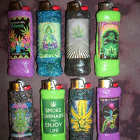 Marijuana Inspired Lighter Cases