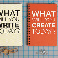 What Will You Create Today : Journal / Notebook / Sketchbook / Dayplanner