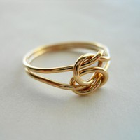 Love Knot 14K Gold Filled Ring
