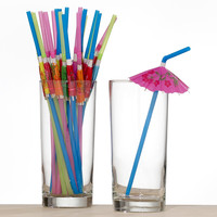 Umbrella Straws, Set of 24 | World Market