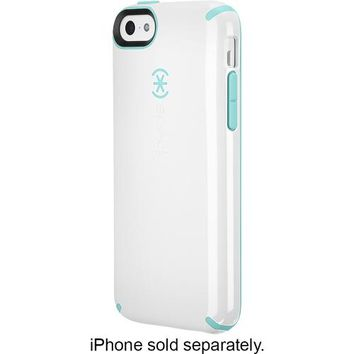 Speck - Candyshell Case for Apple® iPhone® 5c - White/Blue