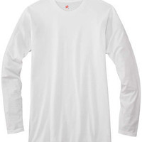 Ringspun Tee Shirt | Buy Hanes Ringspun Cotton Long-Sleeve T-Shirt