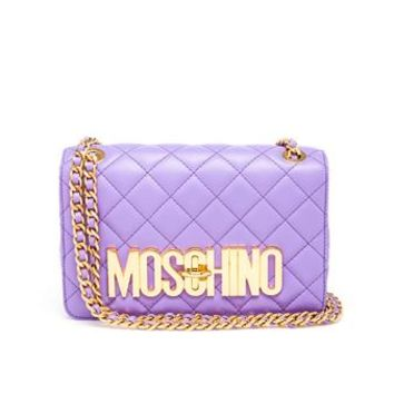 MOSCHINO | Quilted Leather Bag | Browns fashion & designer clothes & clothing