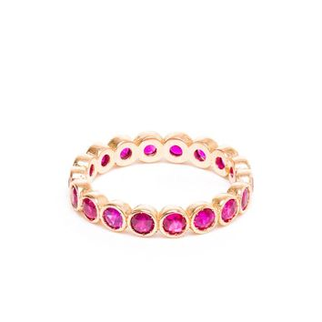 JAGGA | 18k Gold, Ruby or Emerald Ring | Browns fashion & designer clothes & clothing
