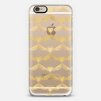 On Wings of Love (transparent) iPhone 6 case by Lisa Argyropoulos | Casetify