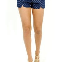 West Coast Wardrobe Shooting Star Denim Shorts