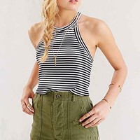 Truly Madly Deeply Fitted Cropped Tank Top-
