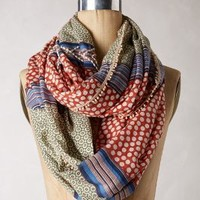 Es Campur Infinity Scarf by Anthropologie Red One Size Scarves